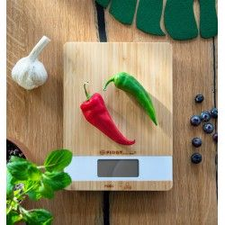 Waga kuchenna BAMBUSOWA 5kg/1g FIRST AUSTRIA